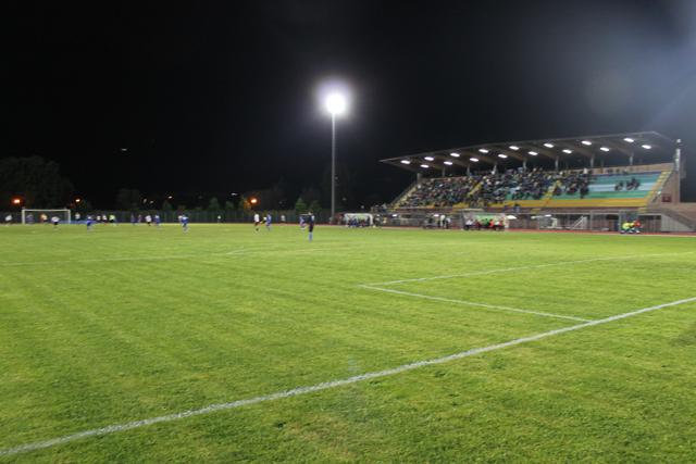 Lo stadio 'Castellani' di Montelupo