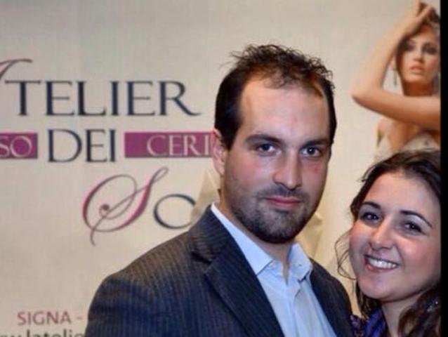 Andrea Guarnieri e Veronica Cristianini