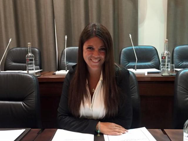 Elisa Montemagni, consigliera regionale della Lega Nord