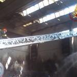 L'incendio alla Waste Recycling a Santa Croce, 4 agosto 2015