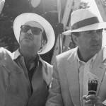Paolo e Vittorio Taviani sul set di Good Morning Babilonia (1987)