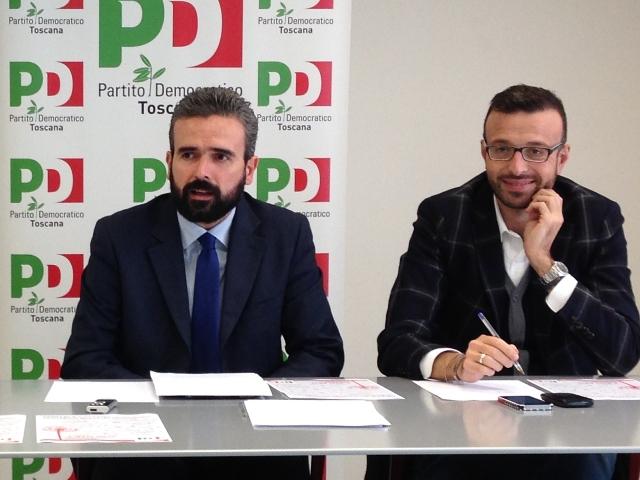 Dario Parrini e Antonio Mazzeo