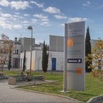 L'ingresso dell'Istituto Ttecip Inphote Cnit, centro ricerca Ericsson