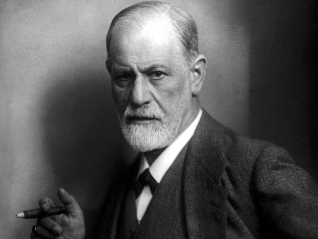 Sigmund Freud (foto: Wikipedia, Max Halberstadt)