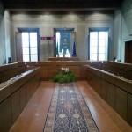 La sala del consiglio comunale di Empoli