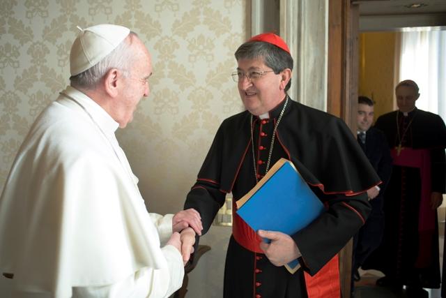Papa Francesco e il cardinale Betori