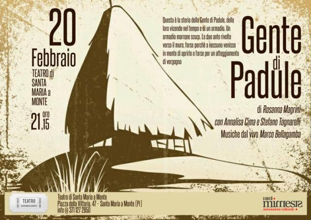 482408be94 Gente di Padule, l'Eccidio approda a teatro - gonews.it