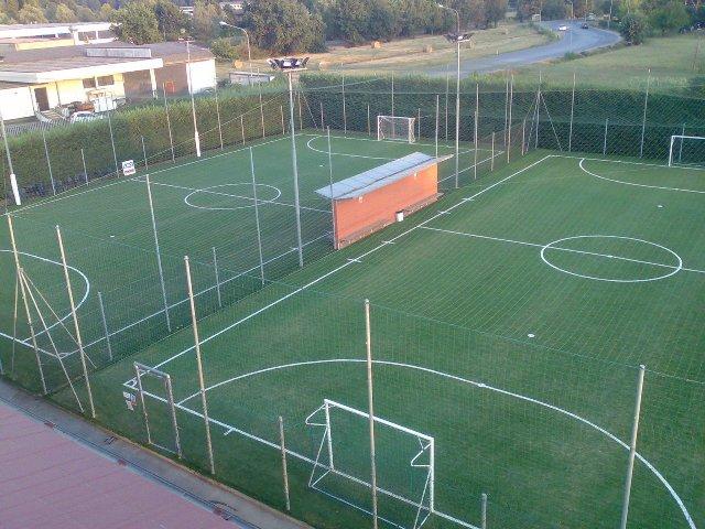 Lavori all impianto sportivo campo di calcio a e manutenzione