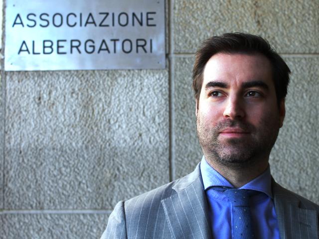 Daniele Barbetti, presidente dell'Associazione Albergatori di Chianciano Terme