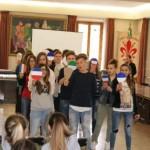 La visita a Castelfiorentino dei 50 studenti di Guebwiller