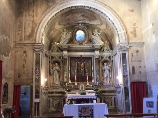 La chiesa di Santa Maria della Marca a Castelfiorentino