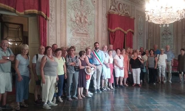 Delegazione di Colmar in visita a Lucca