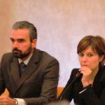 Brenda Barnini e Dario Parrini (foto gonews.it)