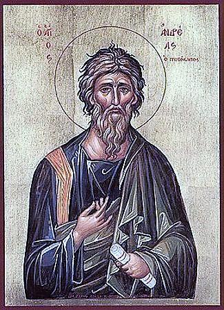 un'immagine di Sant'Andrea