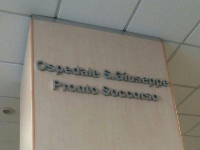 Il pronto soccorso dell'ospedale 'San Giuseppe' di Empoli (foto gonews.it)