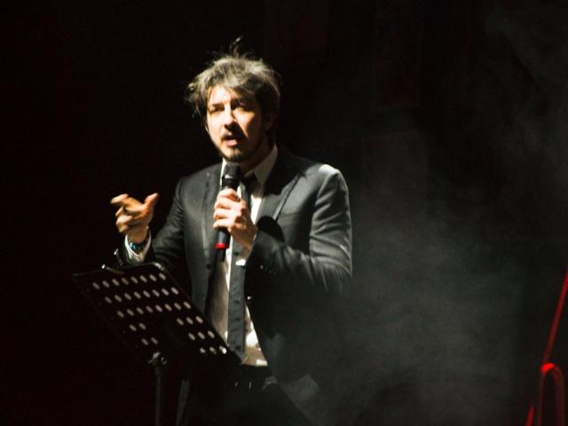 Paolo Ruffini al Palapop di Santa Croce sull'Arno