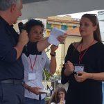 13 - 4A RELAZ INTERNAZ per il MARKETING presenta PROPRIO PRODOTTO sul PALCO