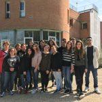 18 - Rientro al CATTANEO la 5B TURISMO - la squadra al completo con i docenti tutor del progetto San Miniato in tasca, vincitore del premio (1)