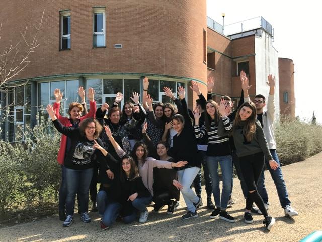 Squadra al completo con studenti e docenti-tutor del progetto San Miniato in tasca