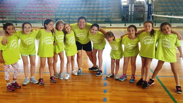 Pallavolo monsummano concluse le attivit di mini volley e summer camp per le piccole pallavoliste - Piscina comunale monsummano ...