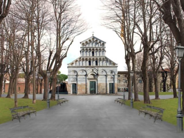 """Nuova area verde in piazza San Paolo a Pisa, Conti: """"Investiti 500mila euro, obiettivo raggiunto"""""""