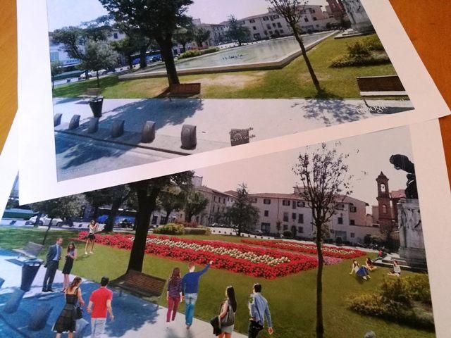 Piazza della vittoria al posto della vasca arriva un giardino - Piscina comunale empoli ...