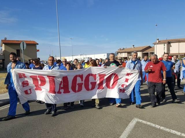 """Piaggio, incontro con i sindacati: """"Proprietà non disponibile per nuovi contratti a tempo indeterminato"""""""