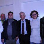 Il commissario della Misericordia Ciuffi, il coordinatore Casotti e il cardiologo dell'OPA