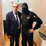 Vittorio Gabbanini e il comandante Alfa