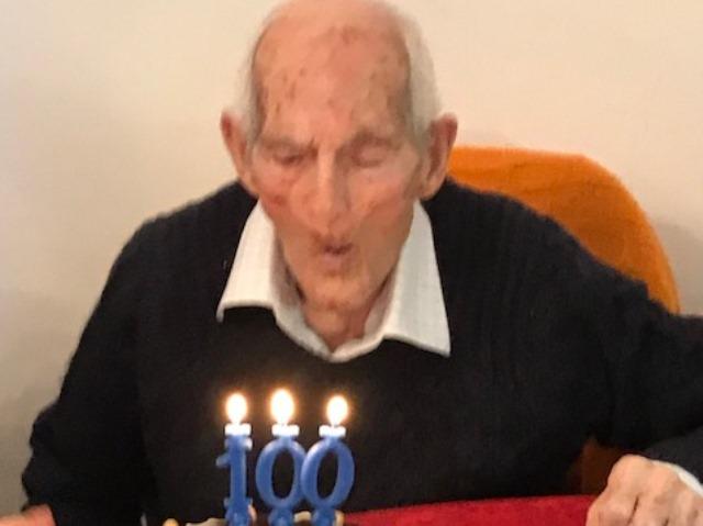raimondo vincenzi 100 anni