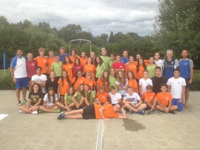 La squadra Categoria Nuoto Valdinievole