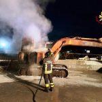 Le immagini dei vigili del fuoco