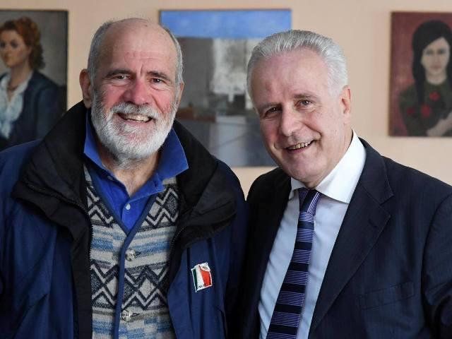 Marco Banchelli ed Eugenio Giani (foto da Facebook)