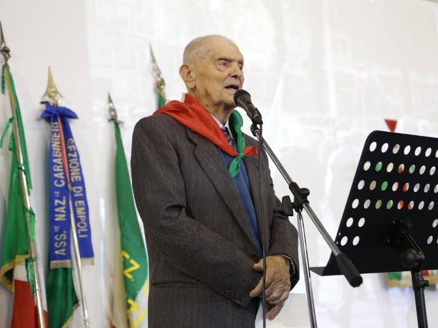 Muore storico partigiano di Empoli Dario Del Sordo, Cavaliere della Repubblica