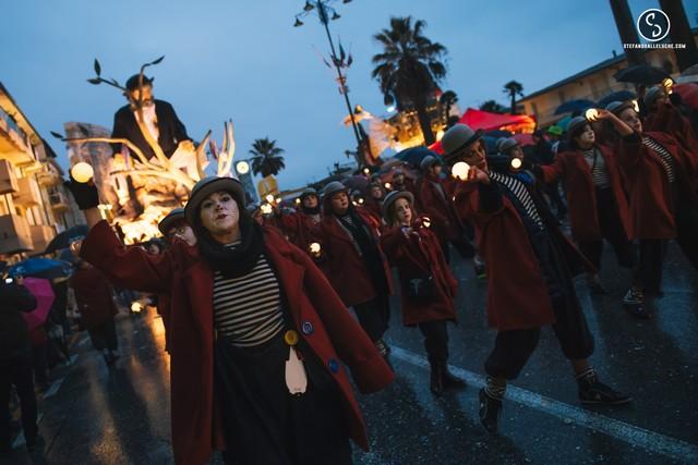 Carnevale di Viareggio 2018 (foto Stefano Dalle Luche)