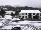 La neve a Croci di Calenzano