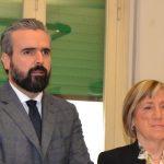 Dario Parrini e Laura Cantini (foto gonews.it)