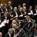 Opera di Firenze, marzo 2018. Un momento del concerto diretto da LEONARDO GARCÍA ALARCÓN con l'Orchestra ed il Coro del Maggio Musicale Fiorentino. (Simone Donati ph)
