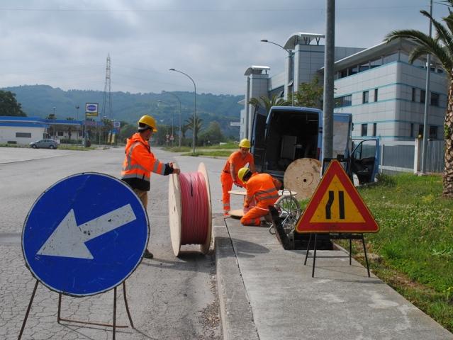 Banda ultralarga a Gambassi Terme, due mesi di cantieri
