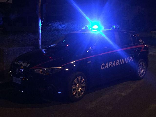 carabinieri notte generica incidente fucecchio 2018_03_305