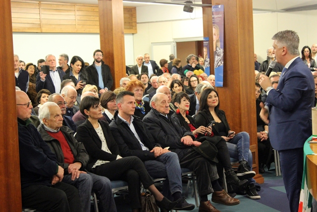 Mallegni e bergamini fi festeggiano l 39 elezione punti for Parlamentari di forza italia