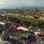 panorama firenze piazzale michelangelo