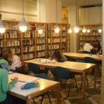 Sala grande Biblioteca adrio puccini santa croce sull'arno
