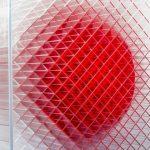 Simone Lingua _ Cubo cinetico _ dettagli _ 2016 _ plexiglass trasparente tegliato a laser e verniciato