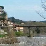 Il ponte tra Capraia e Montelupo Fiorentino
