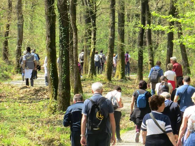Visita al sentiero dei Laghetti con i carabinieri forestali