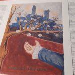 Le opere dedicate dagli artisti di San Miniato ai Taviani (foto gonews.it)