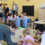 Il presidente dell'Unione Lucia Ciampi in visita alle scuole (2)