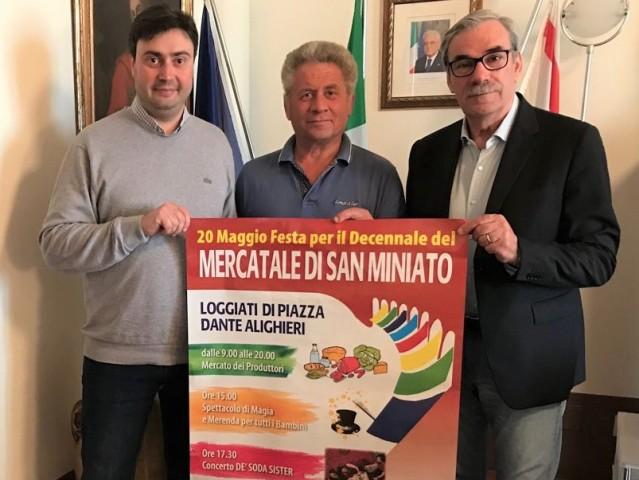 Da sinistra Gozzini, Bellesi e Gabbanini