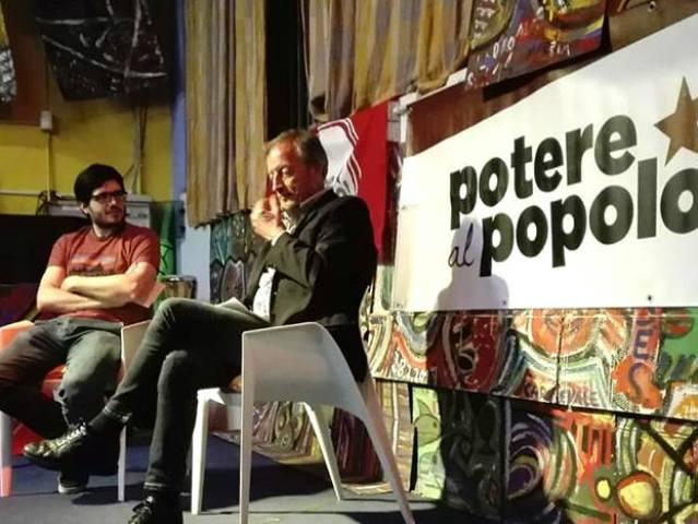 Renzo Ulivieri in un dibattito del maggio 2018